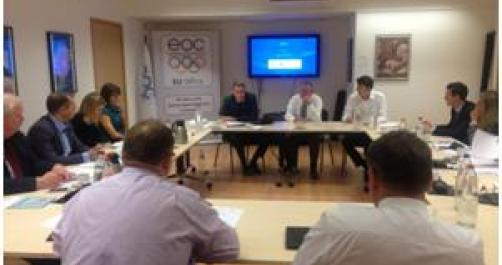 Meeting of the eoc eu commission in brussels eoc eu office - European commission office ...